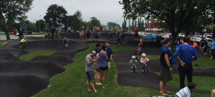 Pump Track Grand Opening